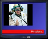 """Click to view the """"Bush Priceless"""" ad!..."""